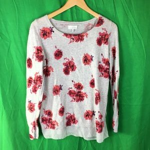 Lucky brand floral sweaters size M (X1)